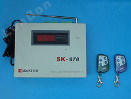 4-Zone Telephone network Alarm Master Panel