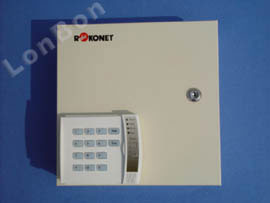 5-Zone Burglary Alarm Master Panel