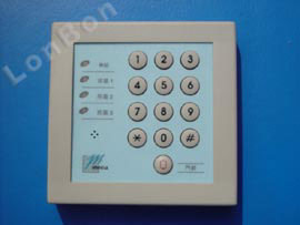 3-Zone Burglary Alarm Master Panel