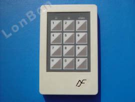 2-Zone Burglary Alarm Master Panel